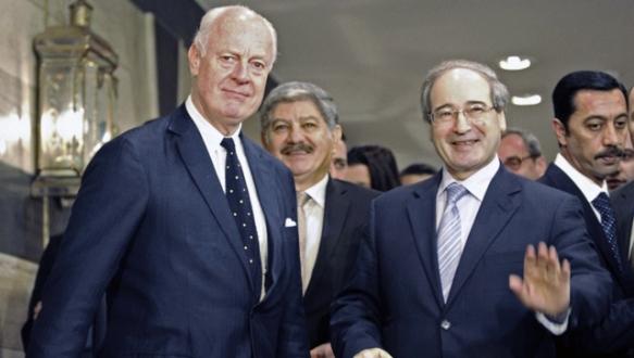 Özel temsilci ilk kez Şam`da