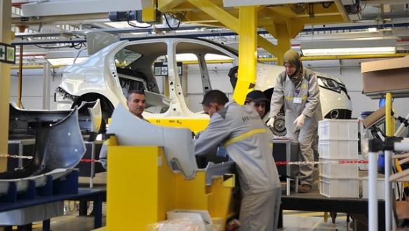 Renault Cezayir`de fabrika açtı