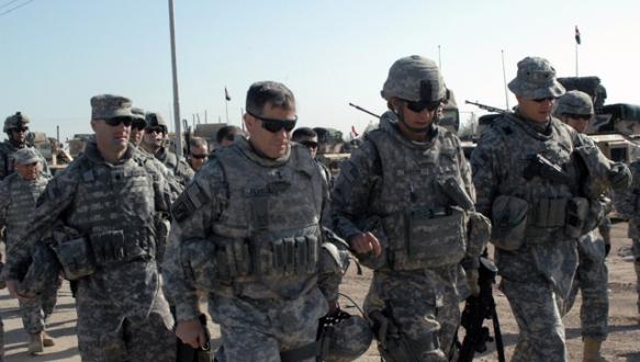ABD askerleri Irak`a ulaştı