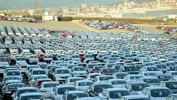 AB`ye otomotiv ihracatı tam gaz