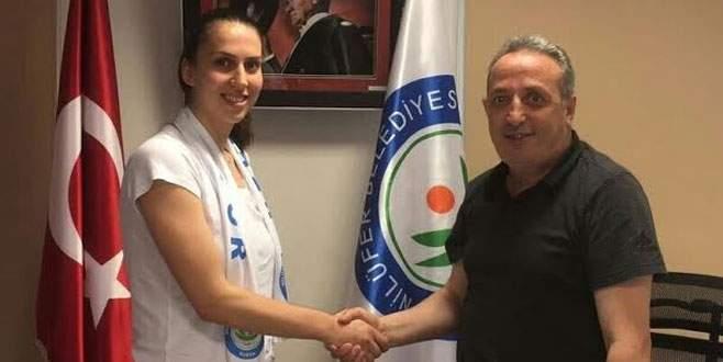 Elif Onur Başaran yeniden Nilüfer Belediyespor'da