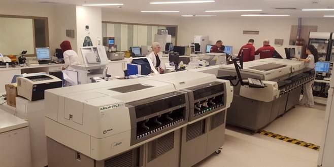 Son teknoloji laboratuvar gözler önünde