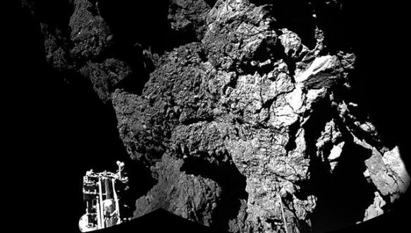 Philae`dan ilk fotoğraf geldi