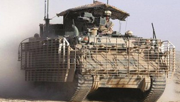 ABD`den Yunanistan`a ikinci el zırhlı araç