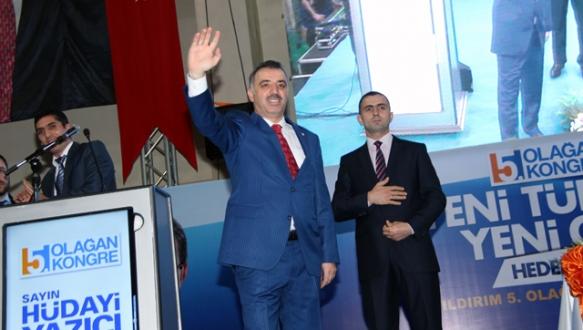 AK Parti`de kongreler Yıldırım`la başladı
