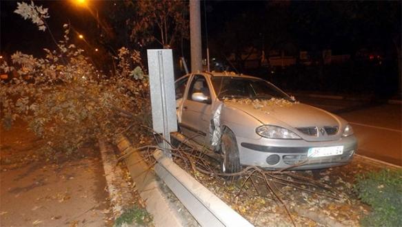 Bursa'da aşırı hız kaza getirdi!