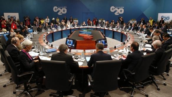 Ukrayna krizinin gölgesinde G20