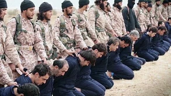 IŞİD`den toplu infaz
