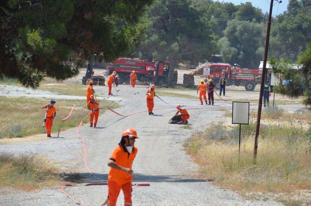 Orman işçileri yangın sezonuna hazır