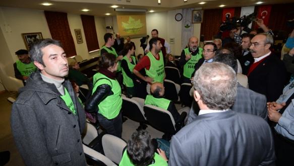 Osmangazi Meclisi`nde termik santral gerginliği