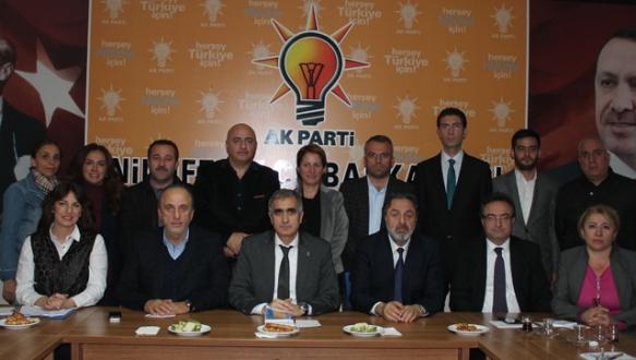 AK Parti Nilüfer`de yürütme kurulu tamam
