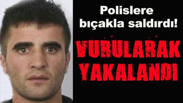 Polisi yaralayarak direnince...