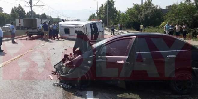 Bursa'da trafik kazası: 1 ölü