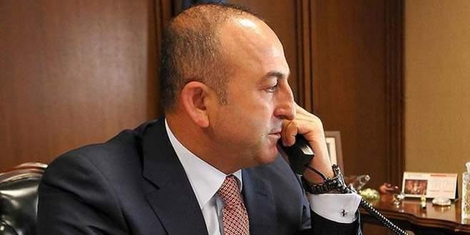 Çavuşoğlu, Fransa Dışişleri Bakanı ile görüştü