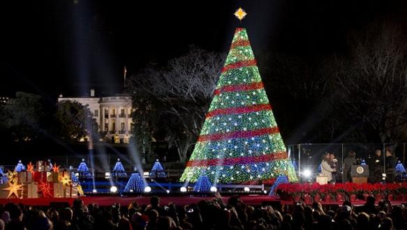 Beyaz Saray Noel için hazır