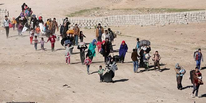 DEAŞ, Musul'dan kaçan sivillere saldırdı: 32 ölü