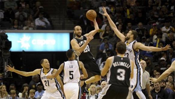 Grizzliesın serisine Spurs son verdi