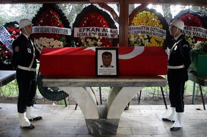 Şehit polisin cenazesi toprağa verildi