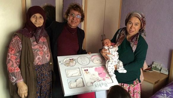 Yeni annelere belediye sürprizi