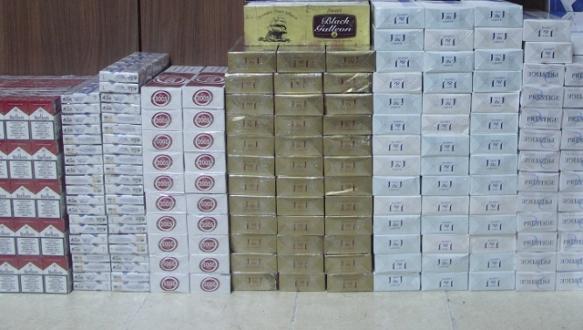 Bursa`da 2 bin 140 paket kaçak sigara ele geçirildi