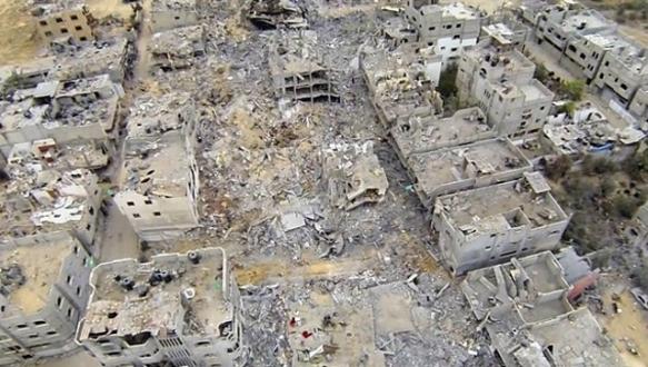 `Gazze`ye giren inşaat malzemeleri yeterli değil`