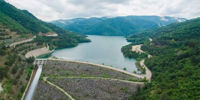 Bursa barajlarından sevindiren haber