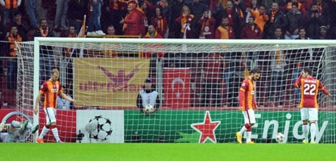Galatasaray kötü bitirdi