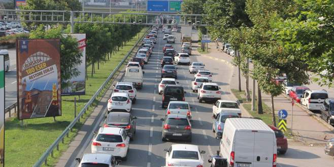 Bursa'da araç sayısı 840 bine yaklaştı