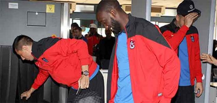 Trabzonspor Polonya'ya gitti