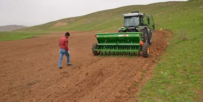 Bursalı çiftçiler destekle umutlandı