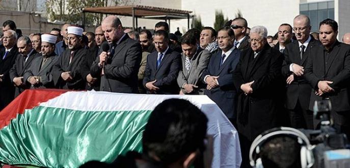 Filistinli Bakan son yolculuğuna uğurlandı