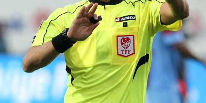 Bursaspor-Akhisarspor maçının hakemi belli oldu