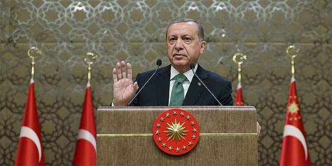 Erdoğan'dan gazilere yapılan saldırıya tepki