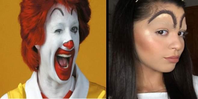 Kaşlarda yeni ilham: Ronald McDonald