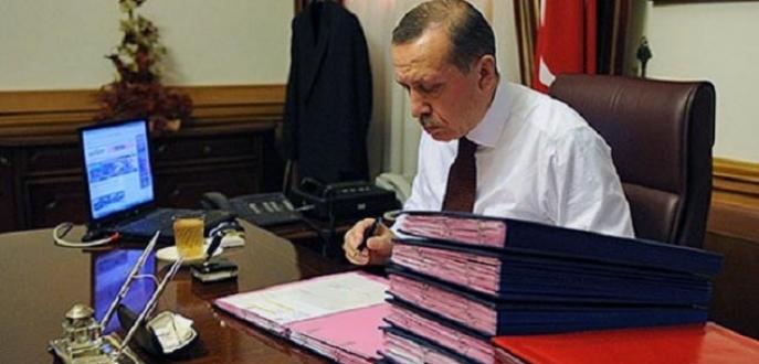 Erdoğan yargı paketini onayladı