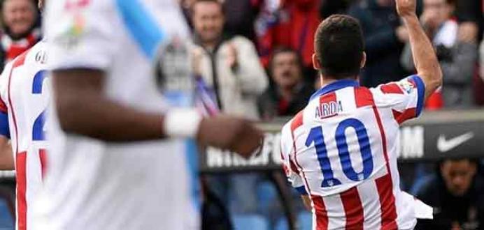 Atletico'da kasım ayının en iyisi Arda Turan