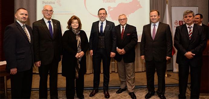 Polonyalı firmalarla raylı sistemler iş birliği