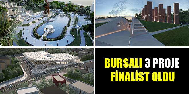 Bursalı 3 proje Sign Of City Awards 2017 finalisti oldu
