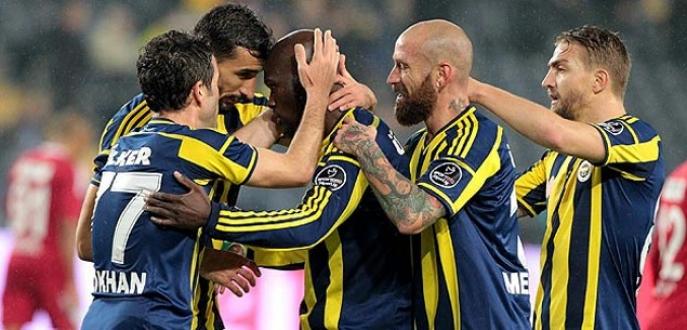 Fenerbahçe evinde rahat kazandı