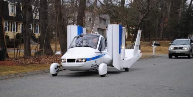 Uçan otomobil'in çok yakında satışına başlanılacak!
