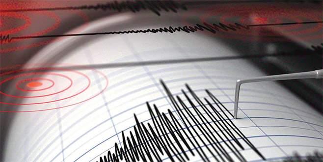 Alanya açıklarında korkutan deprem