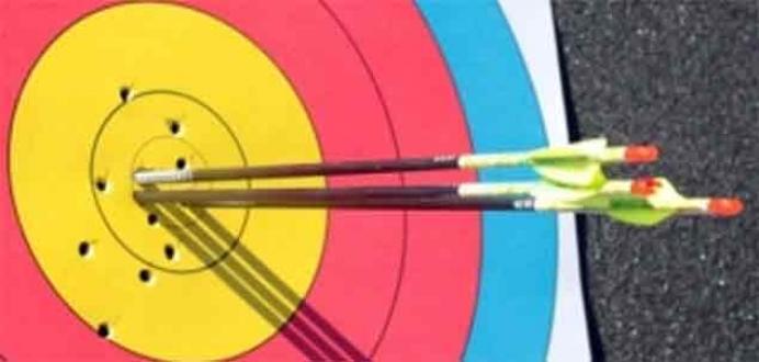 Okçuluk yarışmasında Türkiye rekorları kırıldı