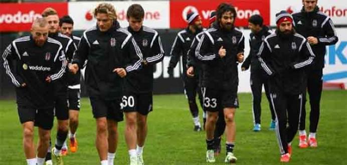 Beşiktaş, Gaziantepspor maçına hazır