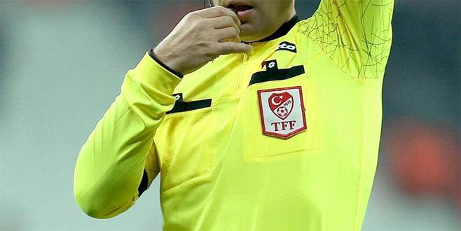 Bursaspor - Akhisarspor maçının hakemi belli oldu
