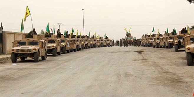 ABD tanklarıyla Afrin'de şov