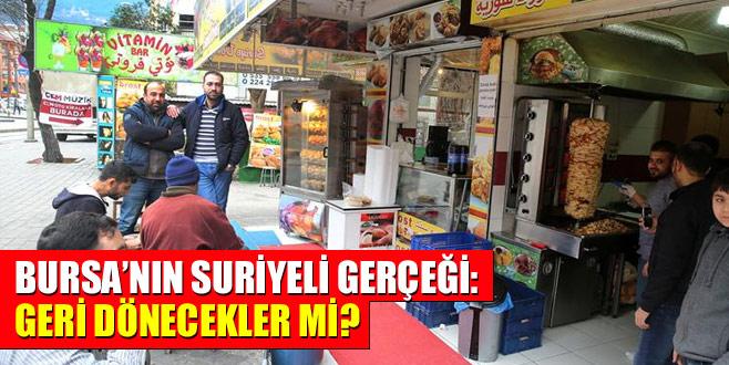 Bursa'nın Suriyeli gerçeği: Geri dönecekler mi?
