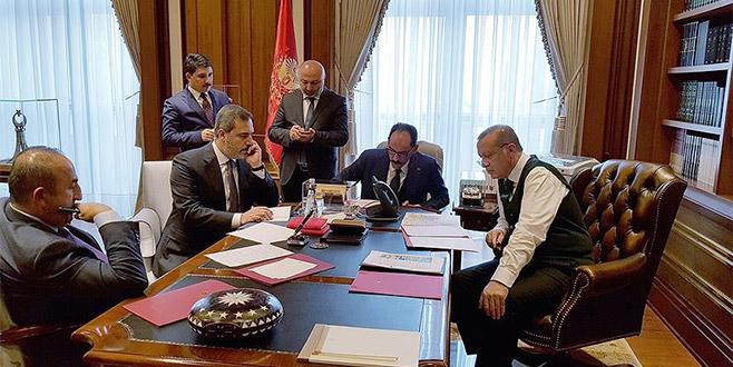 Trump ile Erdoğan telefonda görüştü