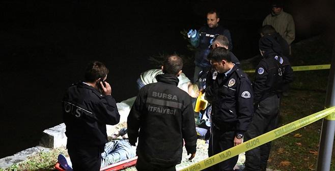 Nilüfer Çayı'nda erkek cesedi bulundu