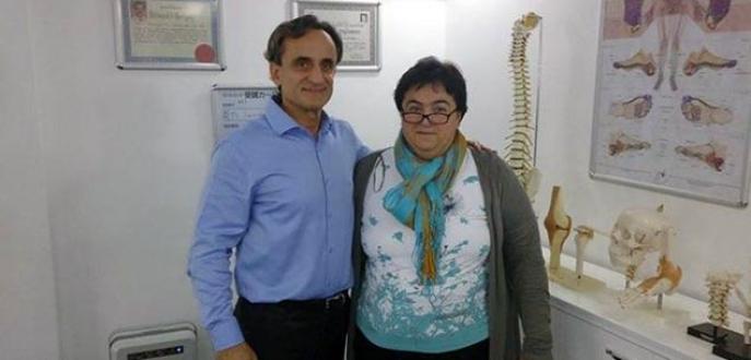 20 yıllık boyun fıtığından Türkiye'de kurtuldu