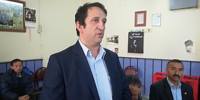 CHP Büyükorhan'da Başkan Kamaç